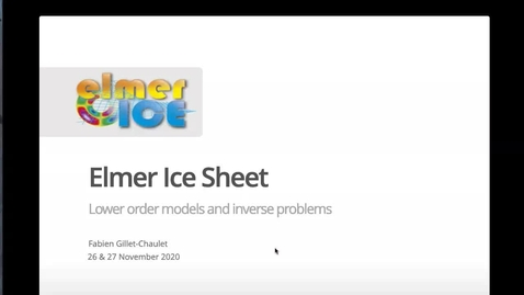 Thumbnail for entry Elmer Ice Sheet part 1 of 2