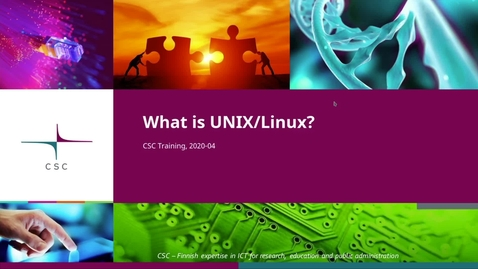 Thumbnail for entry Introduction to Linux: 1 What is Linux and Unix?