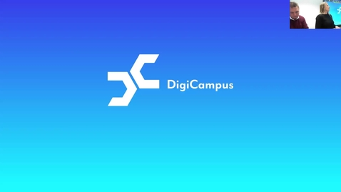 Thumbnail for entry DigiCampus-RoadShow, Kuopio, alustus