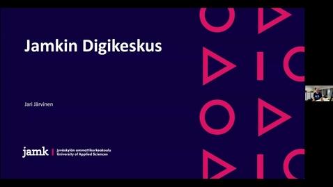 Thumbnail for entry Jamkin Digikeskus - Funet tekniset päivät 26.5.2021