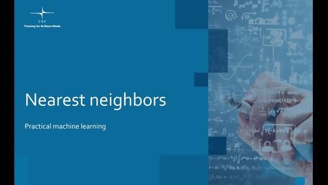 Thumbnail for entry Video 6 – Nearest neighbors.mov