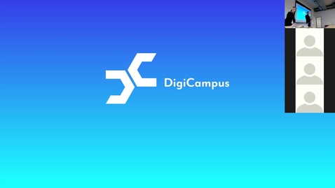 Thumbnail for entry DigiCampus-RoadShow, Espoo, alustus