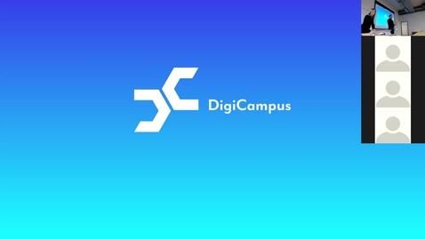 Thumbnail for entry DigiCampus-RoadShow, Espoo, alustus