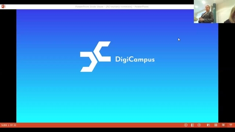 Thumbnail for entry DigiCampus-RoadShow, Tampere, alustus