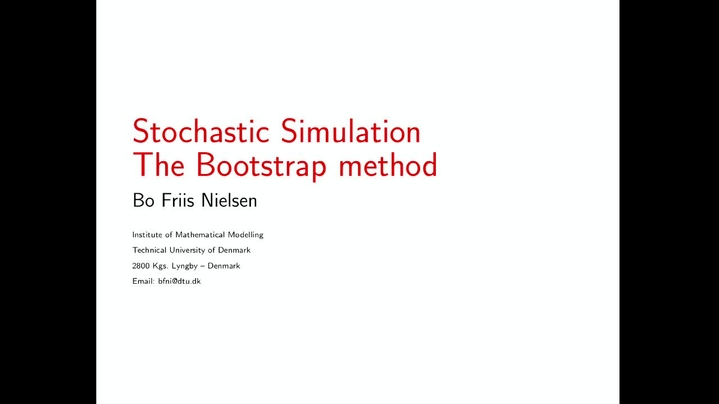 Thumbnail for channel 02443 Stochastic Simulation