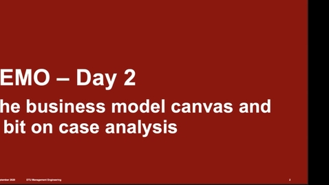 Thumbnail for entry TEMO Day2 lecture 1