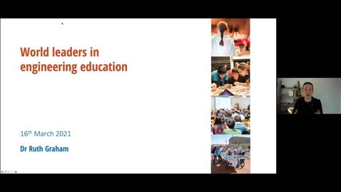 Thumbnail for entry Keynote by Dr Ruth Graham on the Traits and Strategies of World Leaders of Engineering Education