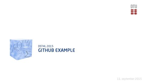 Thumbnail for entry GitHub Example