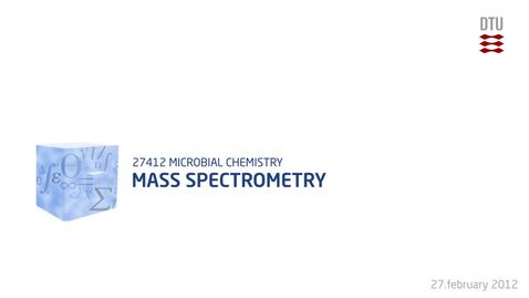Thumbnail for entry Mass spectrometry