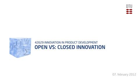 Thumbnail for entry 02-1/5: Open Vs Closed Innovation
