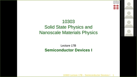 Lecture17B-Semiconductor-Physics-I
