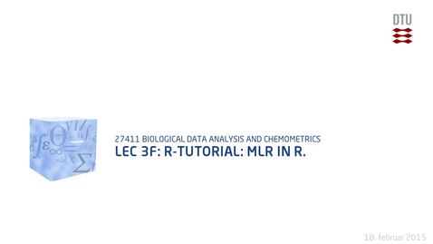 Thumbnail for entry Lec 3F: R-tutorial: MLR in R.