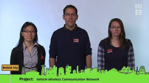 Thumbnail for entry CDIO Academy Team 6: Vehicle Wireless Communication Network