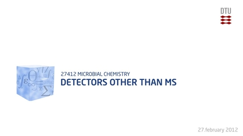 Thumbnail for entry Detectors other than MS
