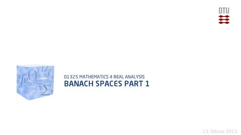 Thumbnail for entry Banach Spaces part 1 (480p)