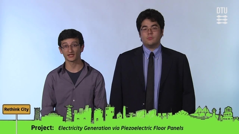 Thumbnail for entry CDIO Academy Team 13: Electricity Generation via Piezoelectric Floor Panels