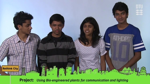 Thumbnail for entry CDIO Academy Team 8: Using Bio-engineered plants for communication and lighting
