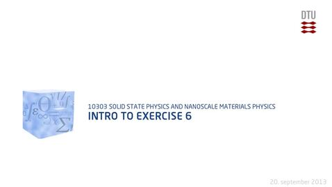 Thumbnail for entry Intro to exercise 6