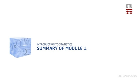 Thumbnail for entry Summary of Module 1. (480p)