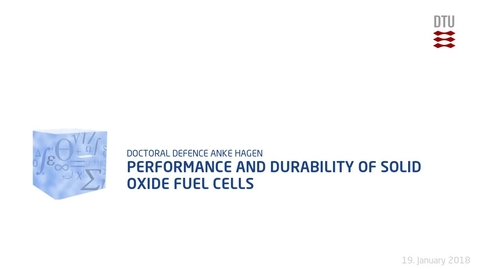 Thumbnail for entry Performance and Durability of Solid Oxide Fuel Cells