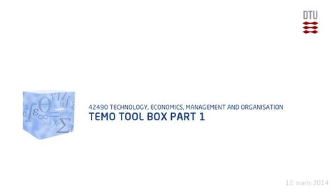Thumbnail for entry Temo Tool Box Part 1