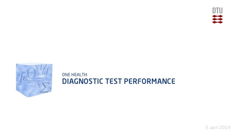 Thumbnail for entry Diagnostic Test Performance