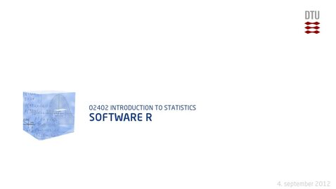 Thumbnail for entry Lec.1E: Software R