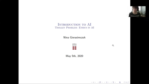 Thumbnail for entry 02180: Introduction to AI: Lecture 13