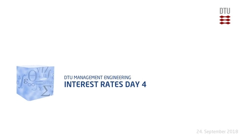 Thumbnail for entry Interest Rates Day 4