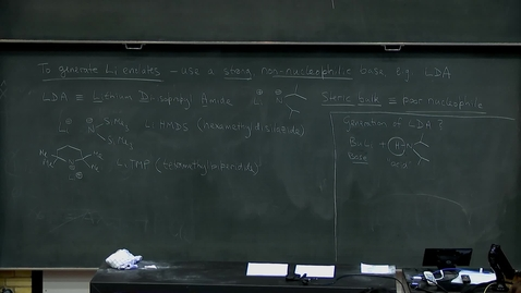 Thumbnail for entry Enolate chemistry (1), part 2