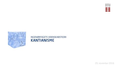 Thumbnail for entry Kantianisme
