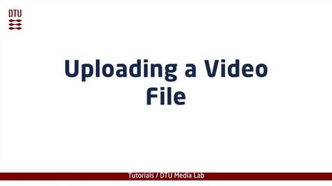 Thumbnail for entry Creating New Categories on video.dtu.dk