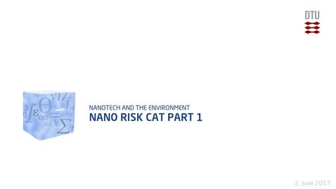 Thumbnail for entry Nano Risk Cat Part 1