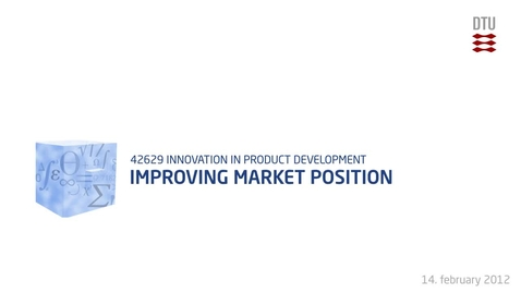 Thumbnail for entry 03-4/4: Integrated Product Development