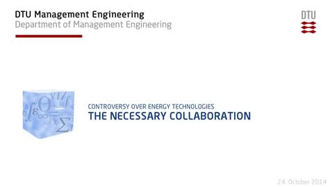 Thumbnail for entry The Necessary Collaboration