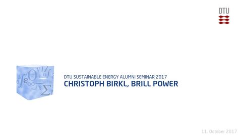 Thumbnail for entry Christoph Birkl, Brill Power