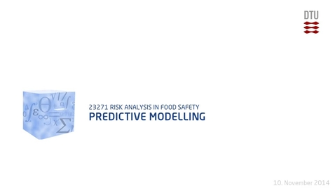 Thumbnail for entry Predictive Modelling