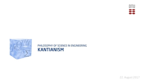 Thumbnail for entry Kantianism