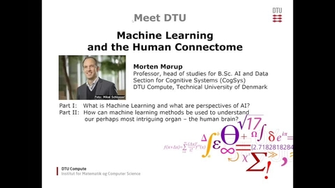 Thumbnail for entry Meet DTU Compute with Professor Morten Mørup