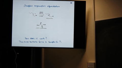 Thumbnail for entry Sharpless asymmetric reactions and asymmetric synthesis in action