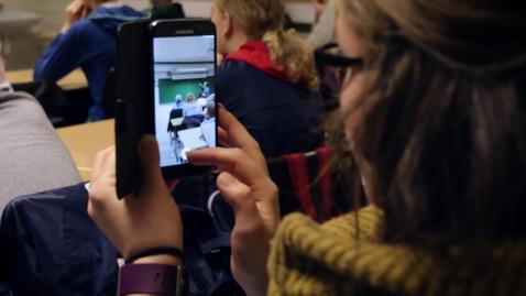 Thumbnail for entry Teknologi i veiledning av lærerstudenter