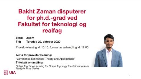 Thumbnail for entry Disputas Bakht Zaman