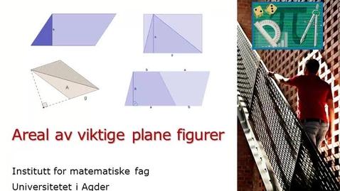 Thumbnail for entry Areal av viktige plane figurer