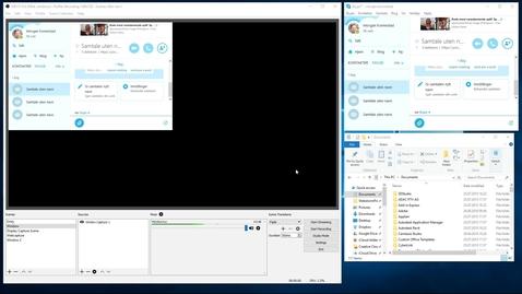 Thumbnail for entry 4.1.2 - OBS Studio Del 2 Settings