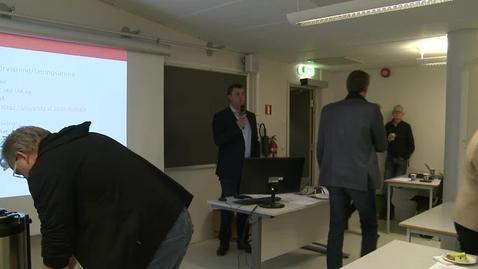Thumbnail for entry Innledning til diskusjon ved Gunnar Horn, PULS-UiA