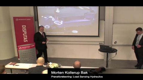 Thumbnail for entry Disputation: Morten Kollerup Bak - Part 1