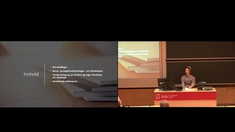 Thumbnail for entry Prøveforelesning Siv Kristine Schrøder - 10-25-2021_10-27
