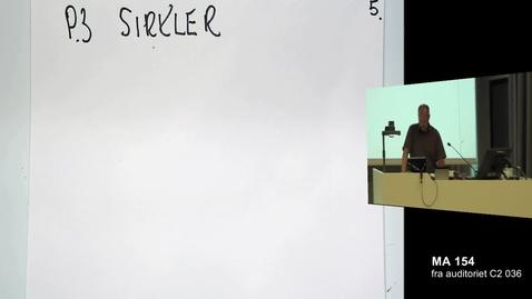 Thumbnail for entry Sirkler - halvere og kvadrere