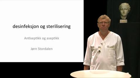 Thumbnail for entry 06 Desinfeksjon og sterilisering