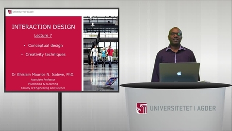 Thumbnail for entry Lecture 7: Conceptual design